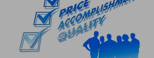 La calidad es nuestra razón de ser, el buen precio nuestra filosofía